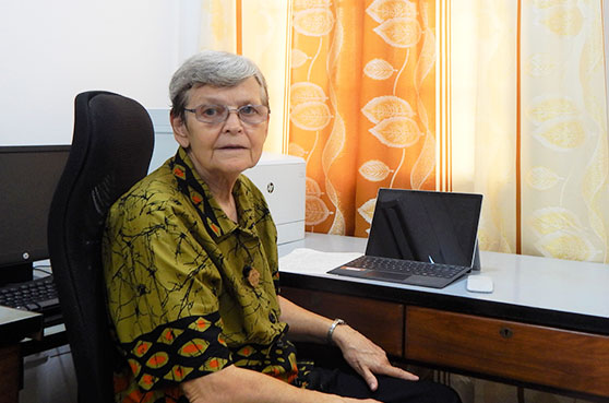 Sister Ann Coleman located in Ghana, Africa, shares her reflection on COVID-19.