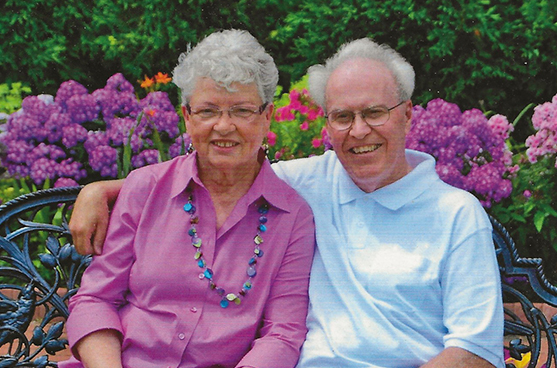 Darrel and Irene Eiden, donors of the School Sisters of Notre Dame share their story of become friends with SSND.