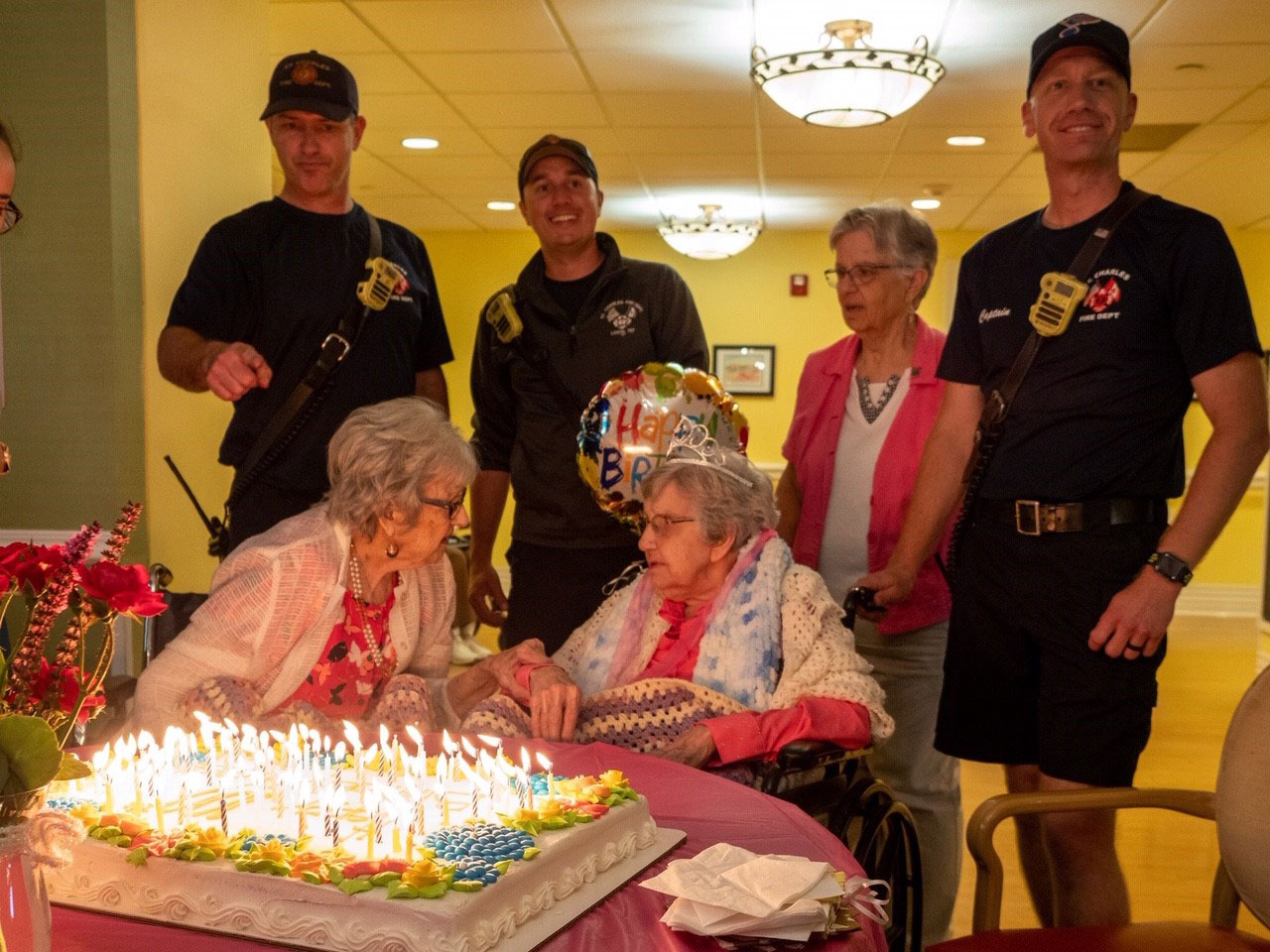 Verna Buchheit is one of the oldest alumna of Notre Dame High School in St. Louis. She turned 100 on June 3, 2019.