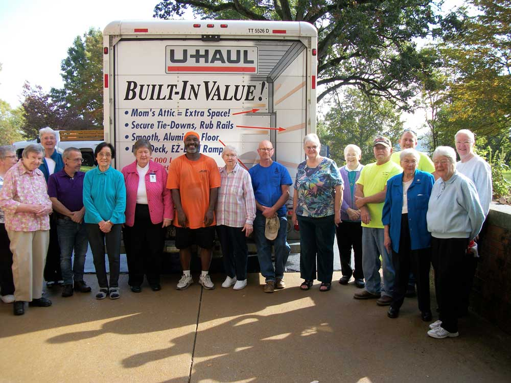 Sisters in St. Louis gave their blessings to their archives, which are moving to Mount Mary University in Milwaukee.