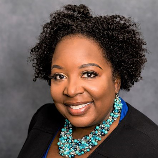 Takisha Lovelace, Executive Director, Community Health Operations. The Mercy honoree for the 2021 SSND Women's Leadership Luncheon.