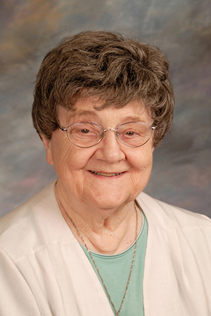 Sister M. Claudette Hudalla